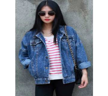 Western Denim Jacket for Women