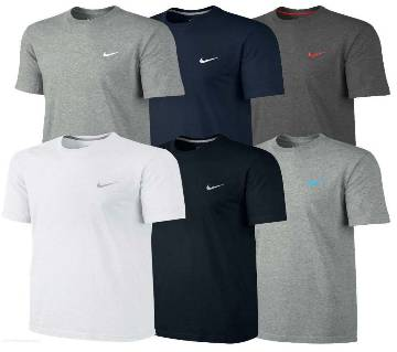 Mens Round neck  t-shirt - 6 pcs combo pack.