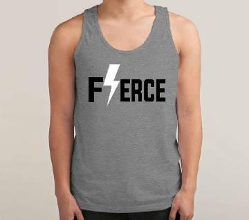 Ferce Mens  Sleeveless  T-shirt