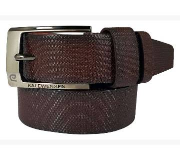 Chocolate Lather Belt for Men 0200BLT