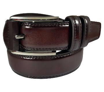 Chocolate Lather Belt for Men 0203BLT