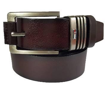 Chocolate Lather Belt for Men 0204BLT