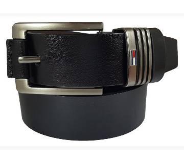 Black Lather Belt for Men 0205BLT