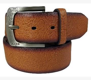 Dark Brown Genuine Lather Belt for Men