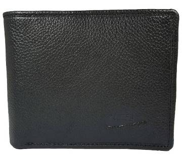 genuine regular shaped leather wallet for men