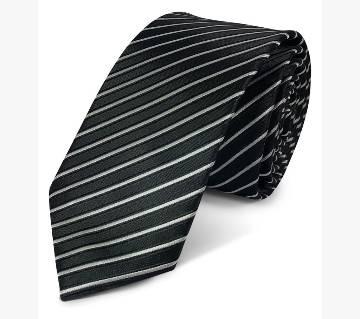Elegant Black Silk Tie - 0188TIE