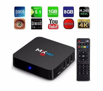 MXQ Pro Android TV Box with Remote