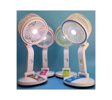 Rechargeable led light & fan (1 PCs)