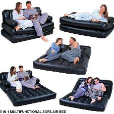 5 in 1 Inflatable Sofa Cum Bed