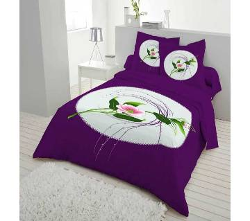 Double Size Bed Sheet & Pillow Cover