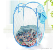 Fold able pop up Dirty Cloth Storage