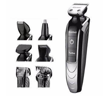 Kemei KM-1832 5-in-1 Rechargeable Electric Shaver