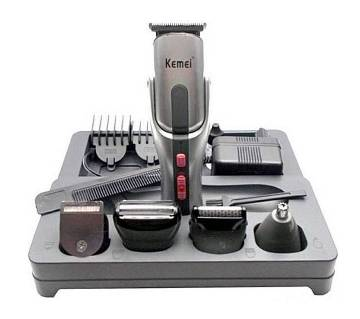 Kemei KM-680A 8 in 1 Rechargeable Shaver & Trimmer