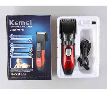 KEMEI KM-8382 Trimmer - Black and Red