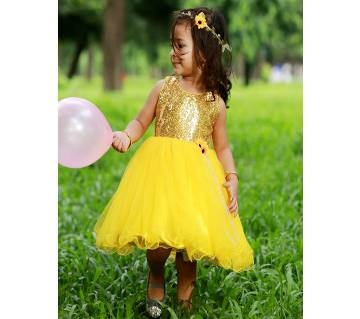 Yellow back bow Designer gown