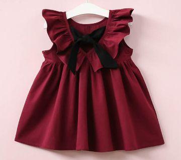 Baby girl cotton Designer frock