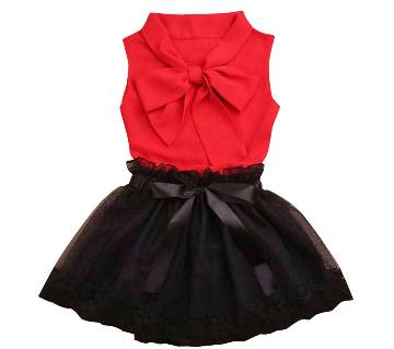 Baby tops and skirt