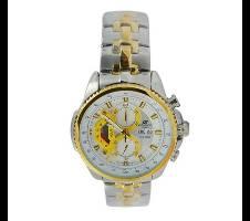 Casio Silver and Golden StainlessSteel Wrist Watch Bangladesh - 6290952