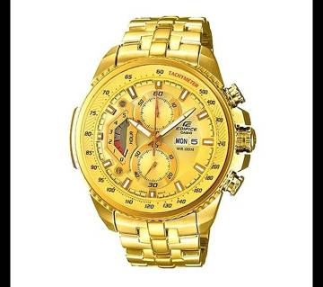 Casio Golden Stainless Steel Wrist Watch For Men
