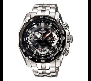 Casio Silver StainlessSteel Chronograph Watch