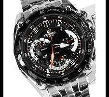 Casio Silver StainlessSteel Chronograph Watch Bangladesh - 6291382