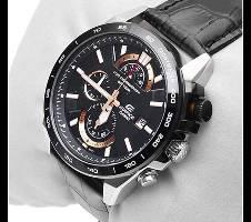 Casio Black PU Leather Wrist Watch For Men Bangladesh - 6291392