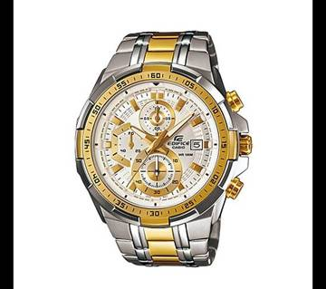 Casio Silver & Golden Mixed Stainless Steel Watch Bangladesh - 6291581