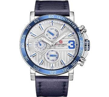 NAVIFORCE NF9137 BLUE Raider Pristine Blue Chronometer Wrist Watch for Men