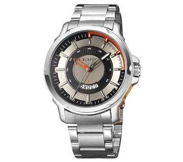 Curren Silver Stainless Steel Analog Wrist Watch (Copy)