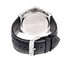 Casio PU Leather Chronograph Wrist Watch For Men Bangladesh - 6298702