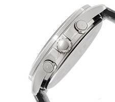 Casio PU Leather Chronograph Wrist Watch For Men Bangladesh - 6298703