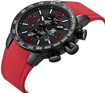 T5 Sports H3450G Analog Chronograph Watch For Men-RED