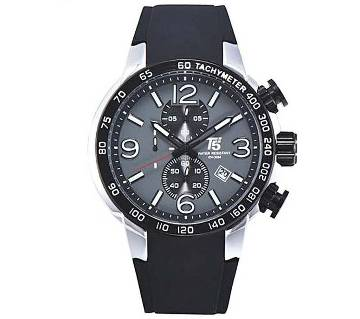 T5 Sports H3450G Analog Chronograph Watch For Men-Black & Silver