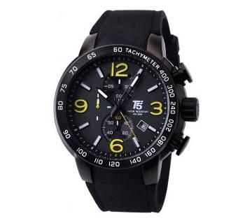 T5 Sports H3450G Analog Chronograph Watch For Men-Black & Ash