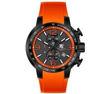 T5 Sports H3450G Analog Chronograph Watch For Men-Orange, Black & Ash