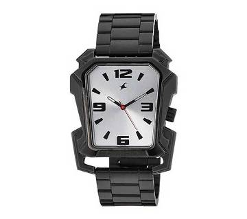 Fastrack 3131NSA - Black Stainless Steel Watch