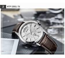 Casio MTP-1381L-7ADF - PU Leather Wrist Watch বাংলাদেশ - 6252012