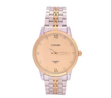 Longbo 1016 - Stainless Steel Wrist Watch For Men