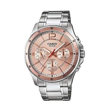 Casio MTP-1374D-9AVDF Stainless Steel Wrist Watch