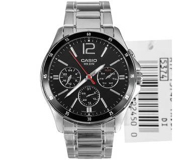Casio MTP-1374D-1AVDF Stainless Steel Wrist Watch
