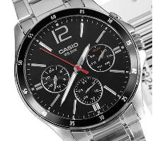 Casio MTP-1374D-1AVDF Stainless Steel Wrist Watch Bangladesh - 6252552