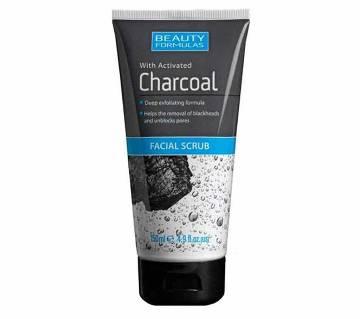 Beauty Formulas Charcoal ফেসিয়াল স্ক্রাব