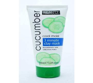 cucumber 3 minute ক্লে মাস্ক 100(ml) UK
