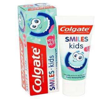 Colgate Toothpaste Smiles 3-5 yrs Kids