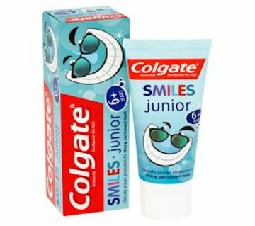 Colgate toothpaste smiles 6+yrs junior - UK