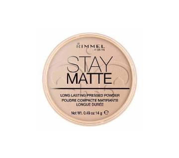 Rimmel Stay Matte Pressed Powder Silky Beige - UK
