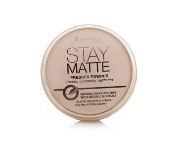Rimmel Stay Matte Pressed Powder Peach Glow 3 - UK