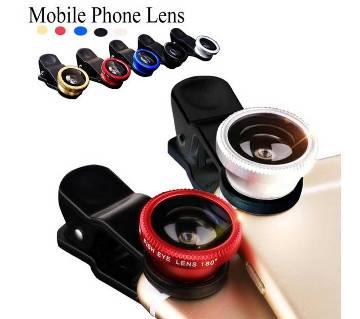3-IN-1 mobile clip lens