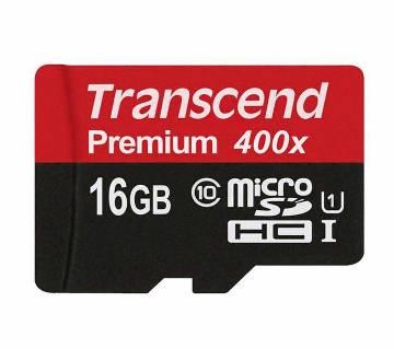 Transcend 400X 16 GB memory card