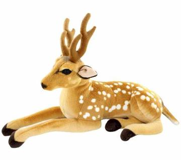 Deer Plush Toy Staffed Sika Deer Toy for Kids